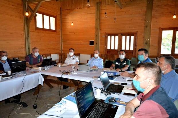 Orman Bölge Müdürlüğünde İşletme Müdürleri Toplantısı