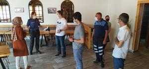 Daday'da korona virüs denetimi yapıldı