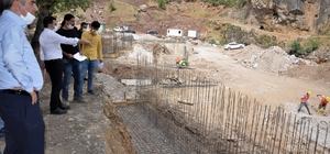 Kato Dağındaki modern kaplıcanın temeli atıldı