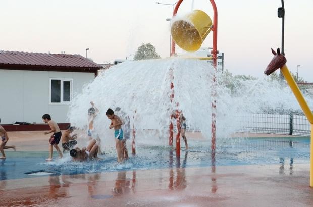 Bunaltıcı sıcağın stresini Fresh Park'ta atacaklar Manisa'daki Fresh Parklar yeniden hizmete açıldı