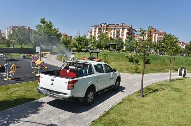 Karatay Belediyesi ilaçlama ekibi çalışmalarını sürdürüyor