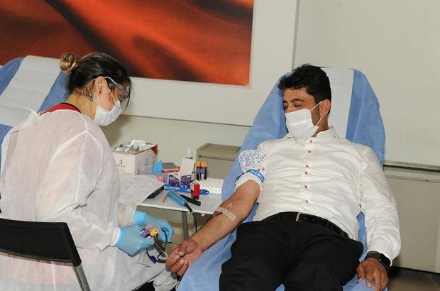 ADÜ'de kan bağışı kampanyası düzenlendi