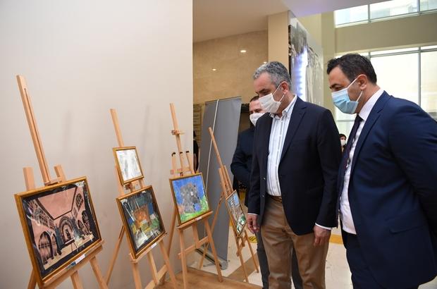 Konyaaltı'nda kapılar sanata yeniden açıldı 'Türkiye Selçuklu Mimari Eserleri' sergisinin açılışı yapıldı