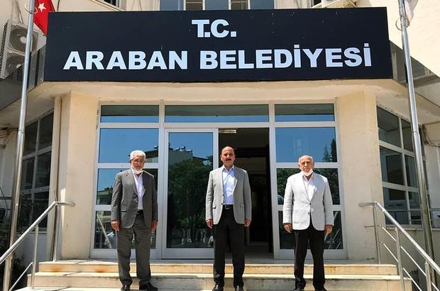 CHP'den Ak Parti'ye geçen başkana hayırlı olsun ziyareti