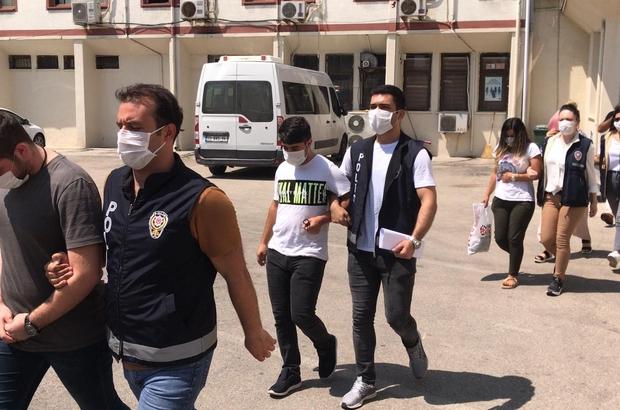 Mersin'deki sahte bahis operasyonunda 8 kişi tutuklandı