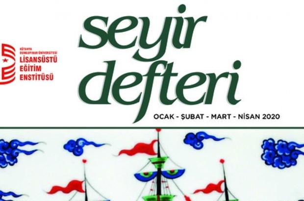 """DPÜ'nün """"Seyir Defteri"""" dergisi yayın hayatına başladı"""