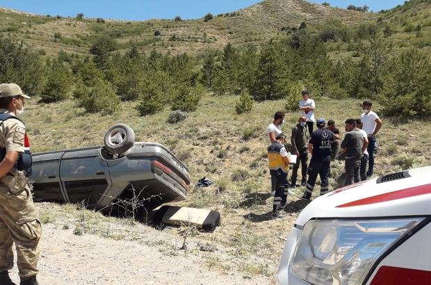 Kaçırdıkları araba ile kaza yaptılar Sivas'ta 18 yaşındaki genç, izinsiz olarak aldığı babasına ait otomobille takla attı, sürücü ve araçta bulunan 3 genç hafif şekilde yaralandı