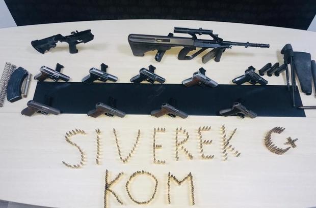 Şanlıurfa'da silah kaçakçılarına yönelik operasyon: 2 gözaltı Çok sayıda tabanca ile uzun namlulu silah ele geçirildi