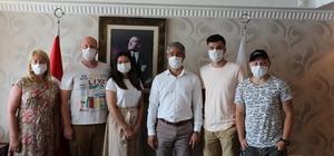 Ukraynalı gazeteciler Marmaris'e geldi