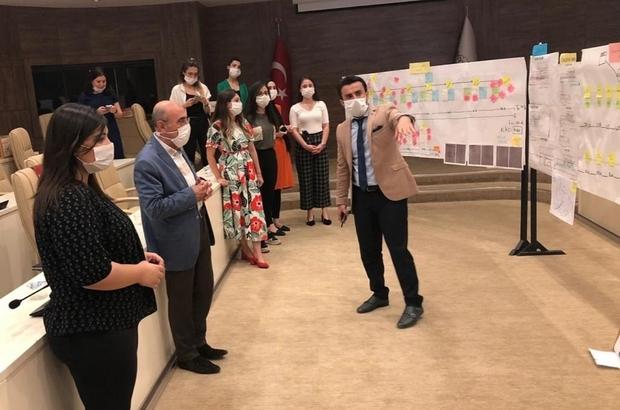 """Gaziantep'te """"Yalın Belediyecilik"""" Sistemi İçin Düğmeye Bastı"""