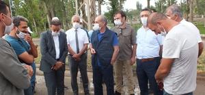 Milli Parklar Genel Müdürü Üzmez Malazgirt'te geldi