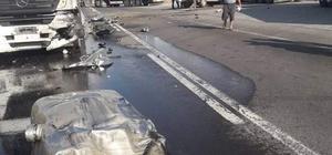 Niğde'de tır ile kamyonet çarpıştı: 1 ölü