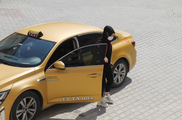 Hem taksici, hem ev hanımı