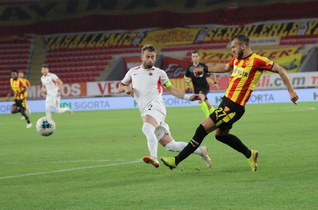 Süper Lig: Göztepe: 0 - Gençlerbirliği: 2 (İlk Yarı)