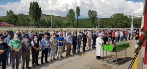Erzurum Sağlık İl Müdürü Bedir'in annesi son yolculuğuna uğurlandı