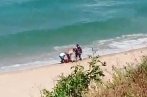 Kırklareli'de denize giren 2 kişiden biri boğuldu, diğeri kayıp