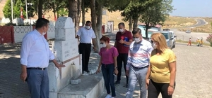 Saruhanlı ve Gölmarmara'daki mezarlıklara inceleme