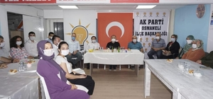 İl Başkanı Karabıyık, AK Parti Osmaneli teşkilatıyla bir araya geldi