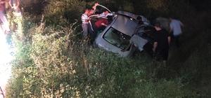 Kazada ağır yaralanan kadın, hayatını kaybetti