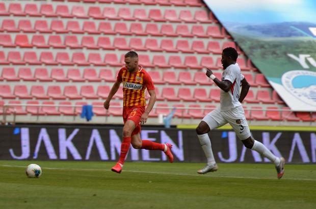 Süper Lig: Hes Kablo Kayserispor: 0 - Gaziantep FK: 0  (İlk yarı)