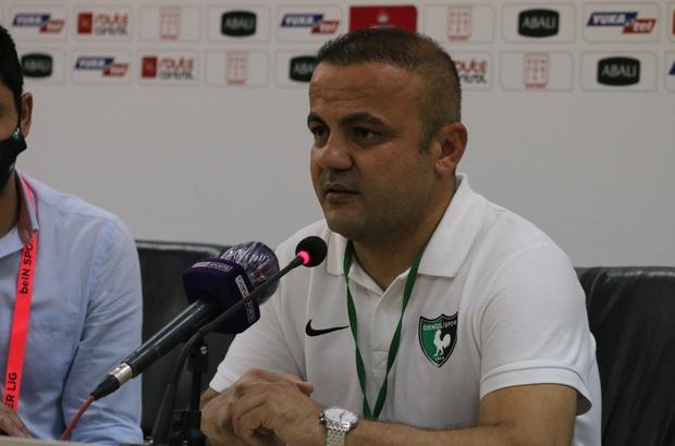 """Levent Kartop: """"Maçı aldığımız için çok mutluyum"""" Denizlispor Teknik Direktörü Levent Kartop: """"2 haftadır şampiyonluğa oynayan takımlara karşı oynuyoruz"""""""