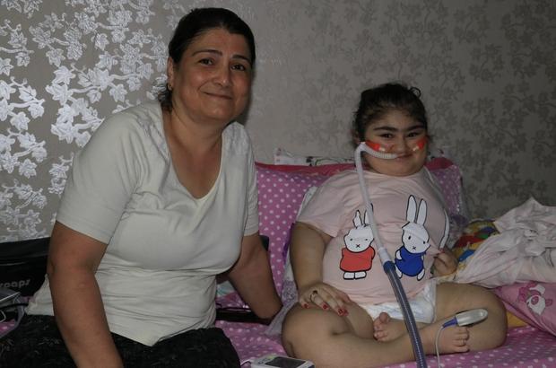 Cam kemik hastası Yasemin evden çıkamıyor Adana'da 13 yaşındaki Yasemin Gürler, cam kemik hastalığı rahatsızlığından dolayı kaburgasının kırılması nedeniyle hayatını solunum cihazına bağlı bir şekilde evden çıkamadan devam ettiriyor Kaburgası kırılan Yasemin Gürler, evinden dışarı çıkabilmek için bataryalı solunum cihazı istiyor