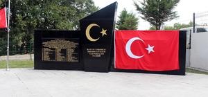 15 Temmuz Demokrasi ve Milli Birlik Günü öncesi anlamlı açılış Akköy Şehitliği dualarla açıldı Rum ve Ermeniler tarafından şehit edilen 60 kişi için temsili mezarlık yapıldı