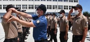 Yozgat POMEM'de 527 bekçi adayı 3 aylık eğitime başladı