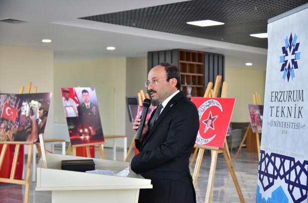 ETÜ'de 15 Temmuz sergisi açıldı