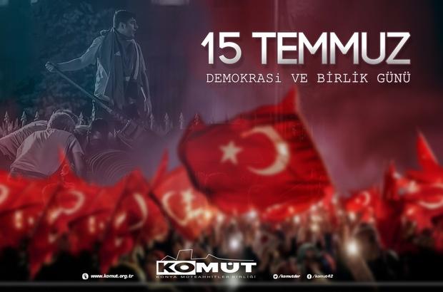 """KOMÜT Başkanı Bulut: """"15 Temmuz Türk milletinin yazdığı bir destandır"""""""
