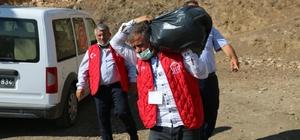 Siirt'te şehit aileleri ve gazilere destek ziyareti