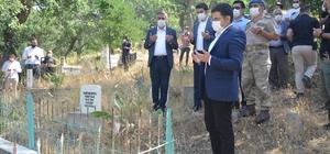 Beytüşşebap'ta şehit mezarları ziyaret edildi