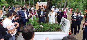 15 Temmuz şehidi mezarı başında anıldı