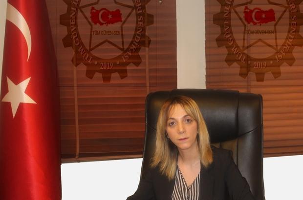 """Tüm Güven-Sen Erzurum İl Başkanı Özgüney: """"Özel güvenlikçilerin sorunlarını yerinde tespit ediyoruz"""""""