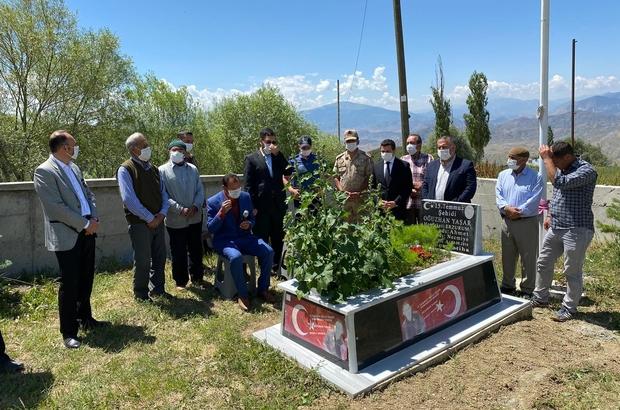 15 Temmuz şehidi Oğuzhan Yaşar mezarı başında anıldı