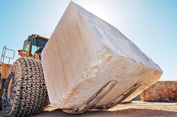 Doğal taş ihracatında Denizli önemli rol oynuyor