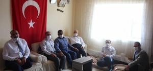 İl Müftüsü Topçu'dan şehit ailelerine ziyaret