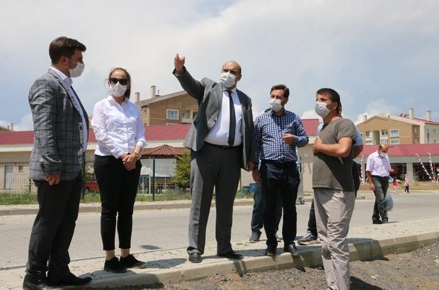 """Ilıca'da köklü dönüşüm Başkan Orhan: """"Aziziye yatırımların en iyisini hak ediyor"""""""