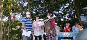 'Tıbbi ve Aromatik Bitkiler Yetiştiriciliği Kursu' katılımcılarına belgeleri verildi