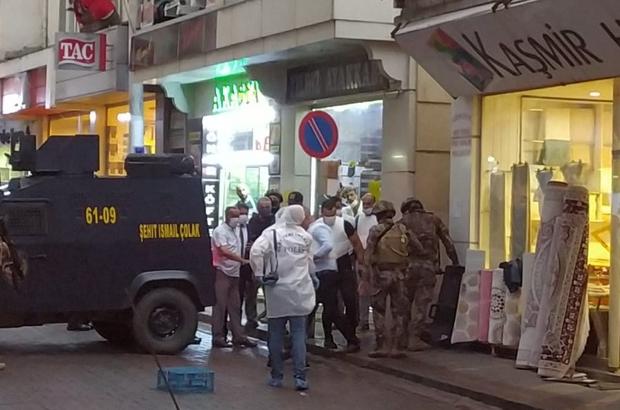 Trabzon'da 3 kişiyi yaralayan şahıs operasyonla alındı