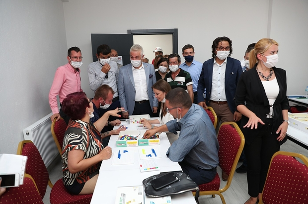 Sümer Kadın Çocuk Yaşam Merkezi açıldı Merkezefendi Belediyesinden bir açılışta Sümer'e