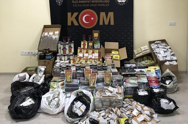 Manisa polisinden makaron operasyonu 29 bin 140 adet makaron sigara ele geçirildi