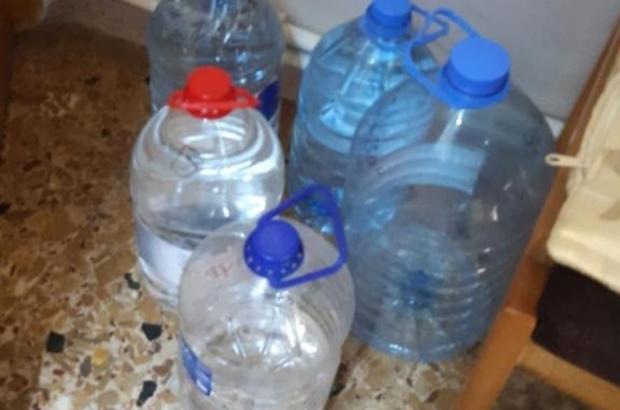 Evini sahte içki imalathanesine çeviren şahıs yakalandı