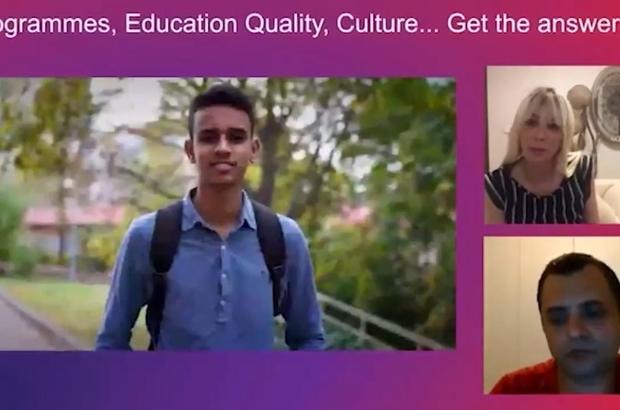 Bartın Üniversitesi sanal tanıtım günlerinde uluslararası öğrencilere tanıtıldı