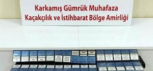 Karkamış'ta kaçak sigara ile telefon yakalandı