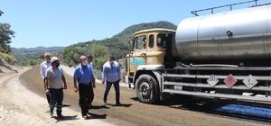 Yol yapım ekipleri Soma'da yoğun mesaide