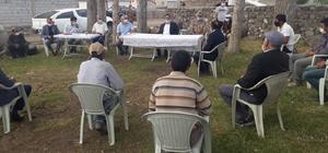 Taşlıçay Kaymakamı Ersöz köy sakinlerini ziyaret etti