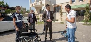 İpekyolu Belediyesinden engelli bireylere tekerlekli sandalye
