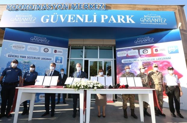 Yapay zeka ile 20 saniyede olaylar çözülecek Türkiye'nin ilk yapay zeka ile korunan Millet Bahçesi için lansman düzenlendi