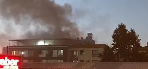 Manisa'da çatı katı yangını
